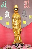 Gold Kuan Modeling Chinese Style