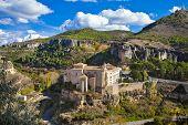 incredible  Cuenca - view of Parador. Spain