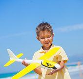 Boy with kite