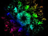 Rainbow Effects Generated Texture