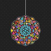 Kaleidoscope chandelier