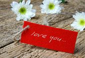 picture of mother-in-love  - Love background with love you miss you message feeling when confession on abstract wooden background can use on valentine day mother day or celebrate love day - JPG