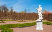 picture of garden sculpture  - Regular park in Oranienbaum in St - JPG