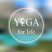 foto of yoga  - Logo for yoga studio - JPG