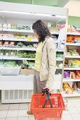 stock photo of supermarket  - MOSCOW - JPG