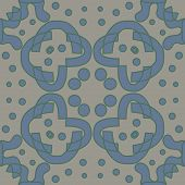 stock photo of symmetry  - Seamless symmetry of blue and gray lines - JPG