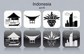 stock photo of raja  - Landmarks of Indonesia - JPG