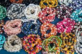 picture of precious stones  - Jewelry made of precious stones and colored stones - JPG