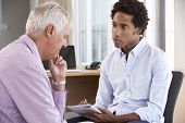 pic of counseling  - Middle Aged Man Having Counselling Session - JPG