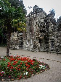 image of cheval  - Image of ideal Palace of Postman Cheval France - JPG