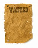 Wild West Wanted Poster poster
