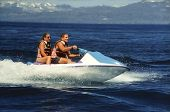 Seadoo With Two Riders