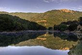 Sunrise On Almaden Reservoir
