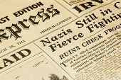 Wartime Newspaper
