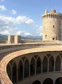 Bellver castle in Mallorca