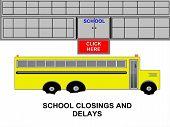 School Bus School Closings and Delays