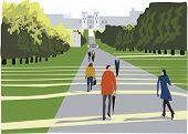 Windsor Great Park illustration