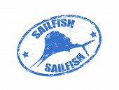 Sailfish Stamp