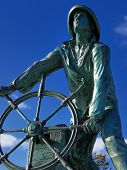 The Man At The Wheel, Gloucester, Massachusetts