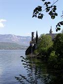Monastery Hautecombe Side View, France