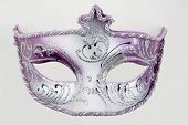 image of masquerade mask  - mysterious venetian mask for carnival and masquerade - JPG