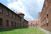 buildings in Auschwitz