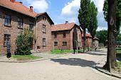 Auschwitz Birkenau concentration camp in Oswiecim. Poland