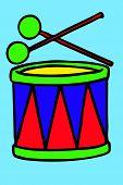 Bright drum