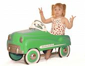 Peace Out Pedal Car 4077