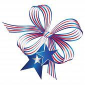 Bow - patriotic