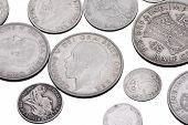 alte britische Münzen
