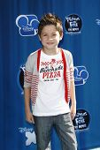 LOS ANGELES, CA - AUGUST 03: Davis Cleveland at the premiere of Disney Channel's 'Phineas and Ferb: