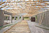 New Construction Roof Truss