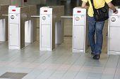 Train Ticket Verification Machine