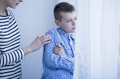 Autistic Child With Hypersensitivity poster