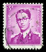 BELGIUM-CIRCA 1953:A stamp printed in BELGIUM shows image of Leopold III reigned as King of the Belgians from 1934 until 1951,circa 1953.
