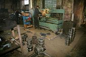 Lathe And The Turner