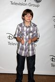 LOS ANGELES - AUG 7: Jared Gilmore im Disney/ABC Television Group Summer Press Tour an die Beve