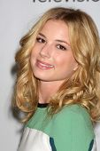 LOS ANGELES - AUG 7:  Emily VanCamp arriving at the Disney / ABC Television Group 2011 Summer Press Tour Party at Beverly Hilton Hotel on August 7, 2011 in Beverly Hills, CA