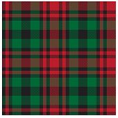 Colourful Plaid Print190-02-01.eps poster