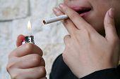Lady Smoker