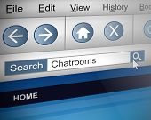 Chat Room Search.