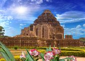 Sun Temple, Konark, India, Rear View