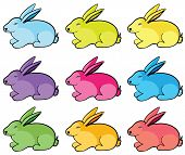 Color Rabbits.