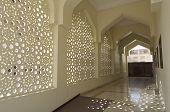 Decoration of Bastakiya Mosque in Dubai
