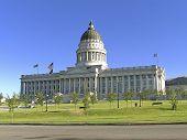 State Capitol Building in Salt Lake City, Utah