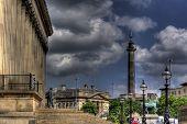Vista de HDR de Liverpool St Georges Hall