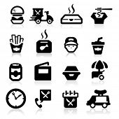Electrician icons set Elegant series