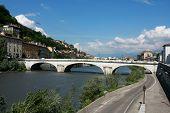 Bridge In Grenoble