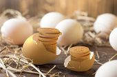 Invest In Gold Egg , Concept Risk Investment In Trading Asset poster